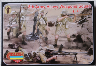Strelets 1/72 STM132 British 8th Army Heavy Weapons (WW2)